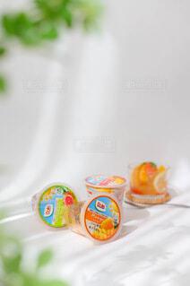食べ物,ジュース,マンゴー,もも,カップ,ドリンク,ゼリー,フルーツポンチ,リフレッシュ,グッズ,doll,ドール,ソフトド リンク,砂糖不使用,ご褒美スイーツ,果汁100%,フルーツカップ