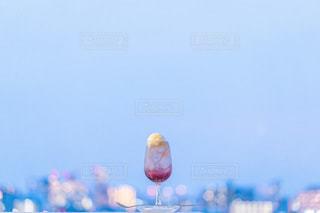 赤いクリームソーダの写真・画像素材[3501038]