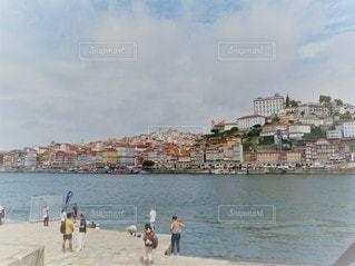 ポルトガルの世界遺産ポルトの港町の写真・画像素材[2941393]