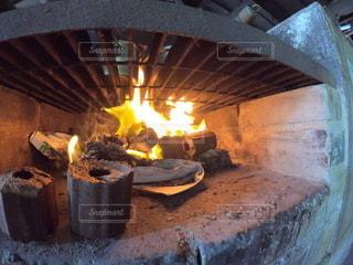 火おこしの写真・画像素材[3522786]
