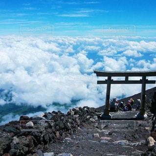 富士登山の写真・画像素材[3576011]