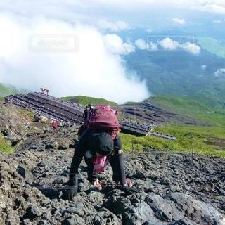 富士登山の写真・画像素材[3576032]