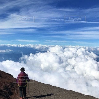富士登山の写真・画像素材[3576029]