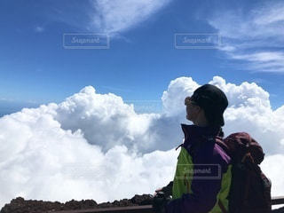 富士登山の写真・画像素材[3576030]