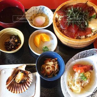 手ごね寿司の写真・画像素材[4331451]