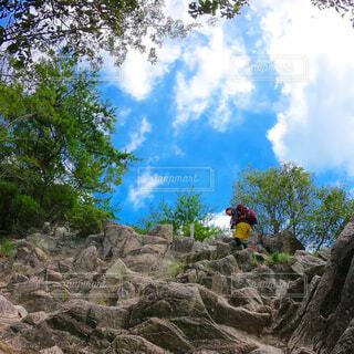 ハイキングの写真・画像素材[4520724]