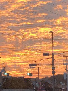 空,屋外,太陽,日の出,明るい,交通