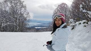 女性,アウトドア,スポーツ,雪,人物,スキー,ゲレンデ,レジャー,スキー場,スノーボード