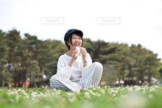 芝生公園の写真・画像素材[2961166]