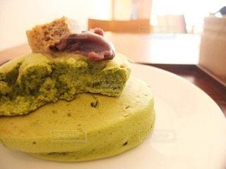 抹茶パンケーキの写真・画像素材[2969673]