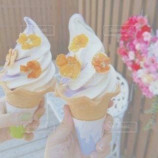 花のクローズアップの写真・画像素材[3574383]