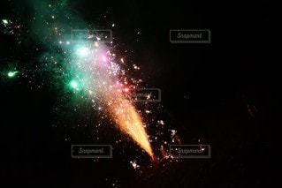 星に満ちた空の写真・画像素材[3641880]