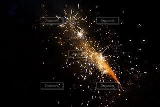 空の花火の写真・画像素材[3641882]
