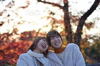 あなたといると幸せの写真・画像素材[4114216]