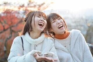 あなたといると幸せの写真・画像素材[4114213]