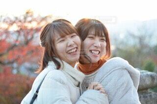 あなたといると幸せの写真・画像素材[4114215]