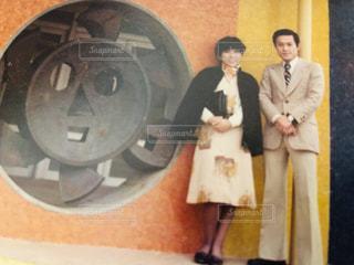 50年前の両親のデートの写真・画像素材[2962934]