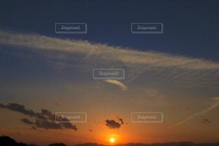 自然,風景,空,屋外,太陽,雲,夕焼け,夕暮れ,クラウド