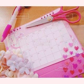 カレンダーの写真・画像素材[3042014]