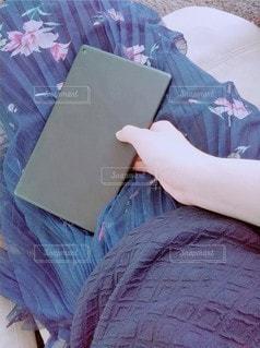毛布の在宅の写真・画像素材[3227637]