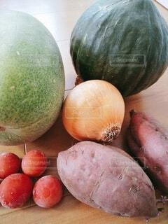 食べ物,トマト,野菜,ミニトマト,食品,玉ねぎ,さつまいも,食材,フレッシュ,ベジタブル,複数,南瓜,カボチャ