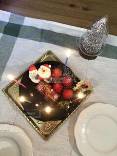 クリスマスケーキの写真・画像素材[3999848]