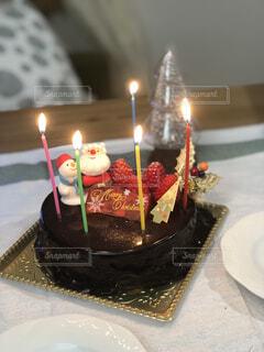 クリスマスケーキの写真・画像素材[3999846]
