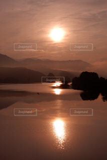 秋元湖の写真・画像素材[4021026]