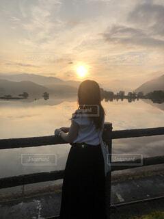 日の出の写真・画像素材[4033269]