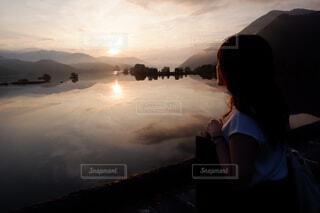 日の出の写真・画像素材[4033266]