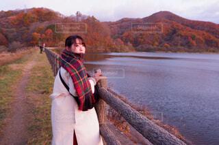 秋元湖の写真・画像素材[4075410]