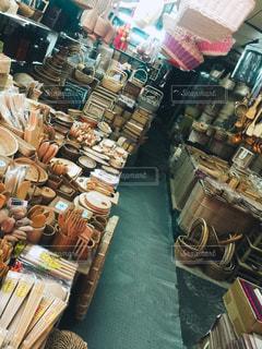 台湾の木工品店にての写真・画像素材[2998936]