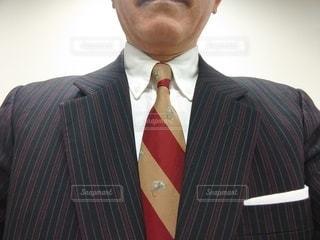 スーツとネクタイの写真・画像素材[3028510]