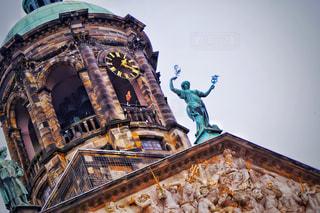 塔のクローズアップの写真・画像素材[2982449]