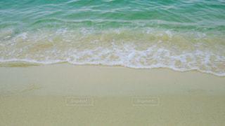 白砂の海の写真・画像素材[3004937]