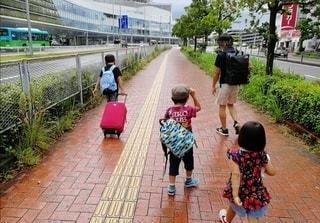 旅行にいってきまーす!の写真・画像素材[3037587]