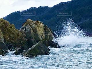 波しぶきの写真・画像素材[2997279]