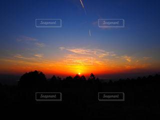 幻想的な夕焼けの写真・画像素材[2998227]