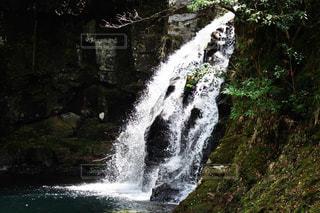 自然,風景,森林,屋外,川,水面,滝,樹木,山腹,カスケード