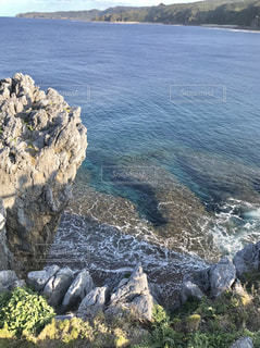 海,水面,山,岩,旅行,岬