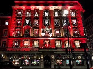 Advent Calendar Building Londonの写真・画像素材[3011760]