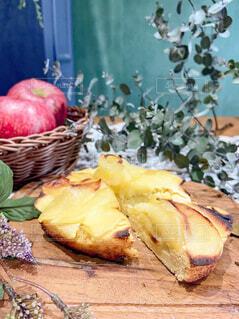 りんごケーキの写真・画像素材[4288267]