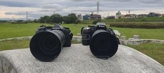 愛用の2機の写真・画像素材[3466829]
