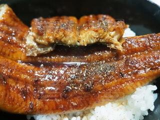 鰻丼の写真・画像素材[3845834]