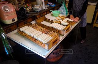 昔ながらの手作りの味〜五平餅〜の写真・画像素材[3855207]
