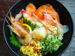 海鮮丼の写真・画像素材[3895395]