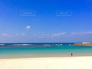 自然,風景,海,空,屋外,砂,ビーチ,砂浜,水面,海岸,沖縄,日中