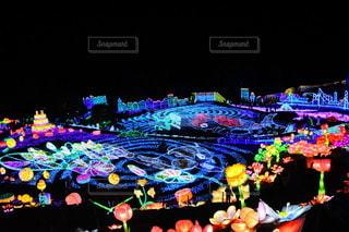 夜,夜景,カラフル,鮮やか,イルミネーション,照明,装飾,伊豆,明るい,カラー,グランイルミ,伊豆高原,伊豆ぐらんぱる公園