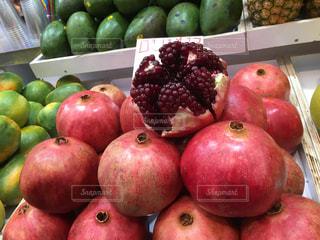 食べ物,果物,市場,ザクロ,石榴