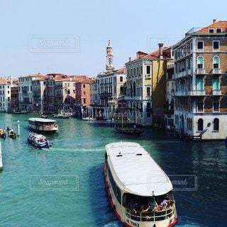 風景,ボート,船,水面,旅行,イタリア,ベネチア,運河